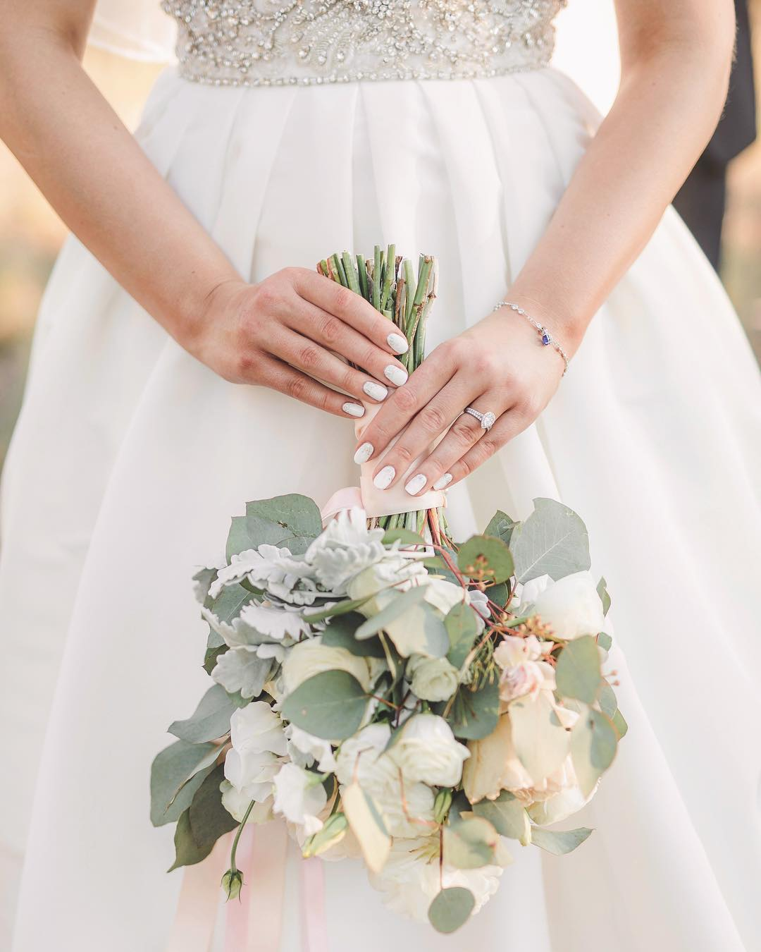 top-35-wedding-nail-ideas-for-brides-2020
