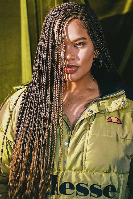 the-best-knotless-box-braids-hairstyles-2020