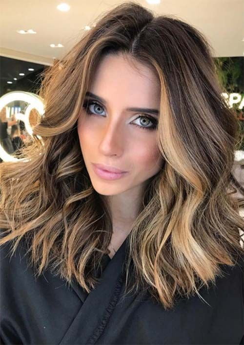 25 Best Medium Length Haircuts for Thick Hair- 2020 - Page ...